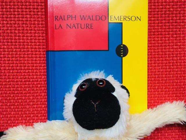La mascota de Por las ramas y el libro La Nature