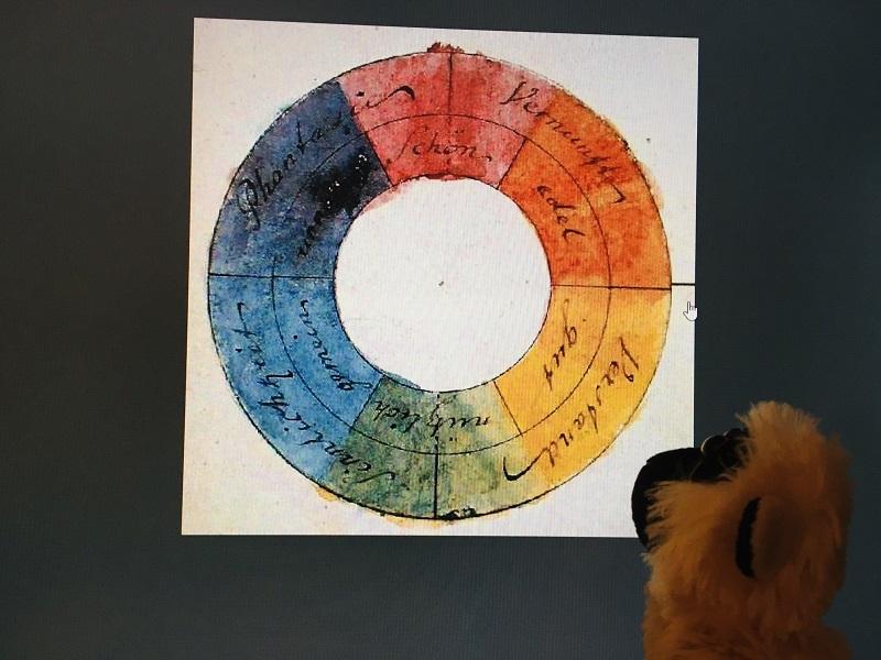 Mimono explica la teoria de los colores de Goethe